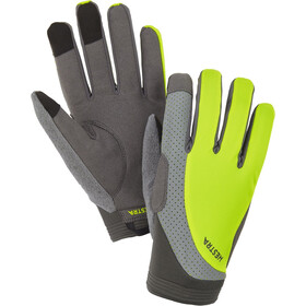 Hestra Apex Reflective Long Finger Gloves yellow hi-viz
